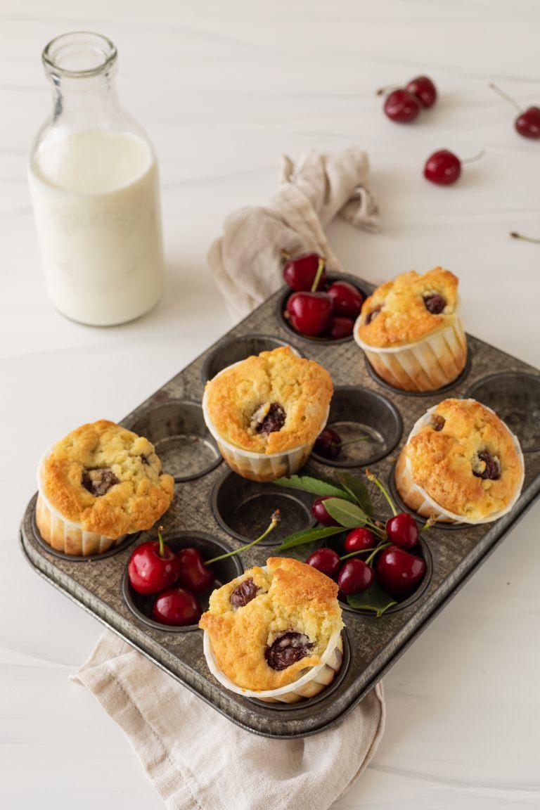 Saftige Kirschmuffins nach einem Rezept von Sweets & Lifestyle®