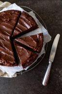 Saftiger Schokokuchen mit Schoko Butter Creme nach einem Rezept von Sweets & Lifestyle®