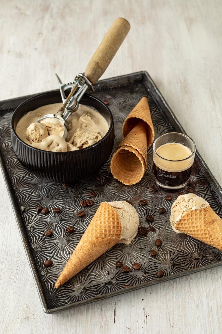 Kaffee Eis selbst gemacht nach einem Rezept von Sweets & Lifestyle®