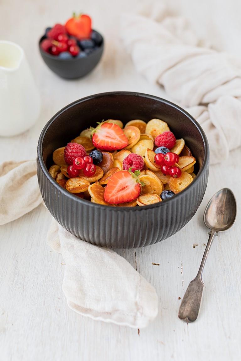 Pancake Cereal Mini Pancakes Rezept von Sweets & Lifestyle®