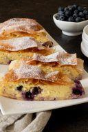 Rezept fuer einen Topfen Heidelbeer Strudel von Sweets & Lifestyle®