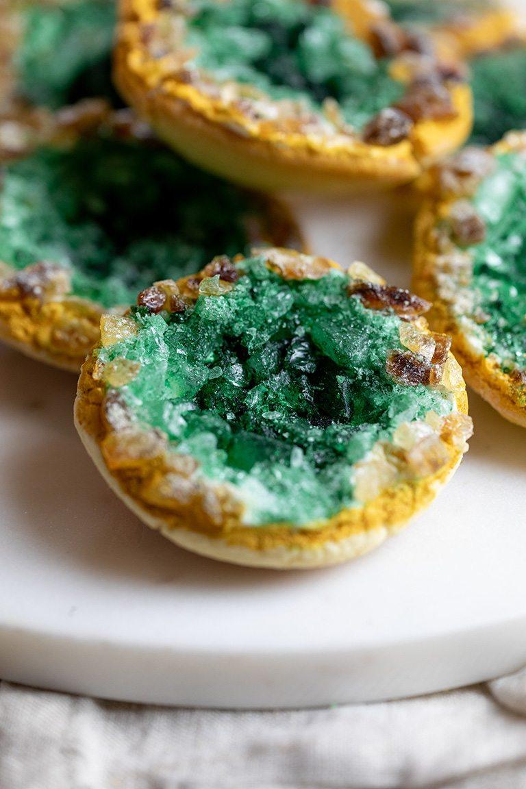 Gruene Edelstein Cookies nach einem Rezept von nach einem Rezept von Sweets & Lifestyle®