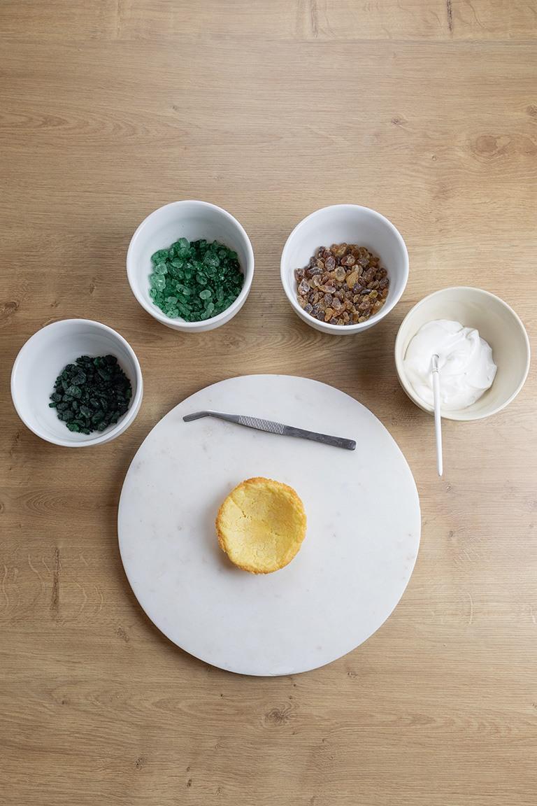 Zutaten fuer Geode Cookies Edelstein Cookies nach einem Rezept von nach einem Rezept von Sweets & Lifestyle®