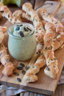 Selbst gemachte knusprige Kuerbisstangerl nach einem Rezept von Sweets & Lifestyle®